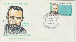 Wallis Et Futuna FDC 1981 Pierre Curie 266 - FDC