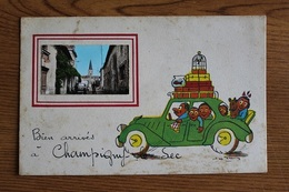 Champigny-le-Sec 86170 Carte Postale 1960 091CP04 - France