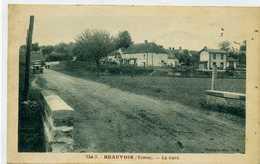 89 - BEAUVOIR - La Gare. - Other Municipalities