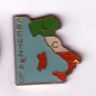 VF331 Pin's LCI Creutzwald Italie Italia  Moselle Achat Immédiat - Villes