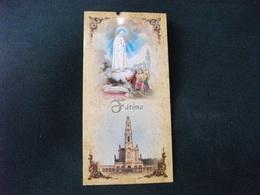 SANTINO HOLY PICTURE IMAIGE SAINTE FATIMA - Religione & Esoterismo
