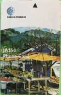 JAMAÏQUE  -  Phonecard  -  Cable & Wireless  -  JA $ 50 - Jamaica