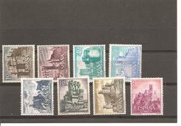 España/Spain-(MH/*) - Edifil  1738-45 - Yvert 1393-00 - 1931-Today: 2nd Rep - ... Juan Carlos I