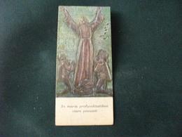 SANTINO HOLY PICTURE IMAIGE SAINTE PREGHIERA AL CRISTO DEGLI ABISSI - Religione & Esoterismo