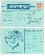ETABLISSEMENTS FRANK - BRUXELLES - 0403 - Postcards