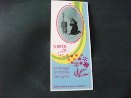 SANTINO HOLY PICTURE IMAIGE SAINTE S. RITA SANTUARIO S. RITA CASCIA - Religione & Esoterismo