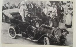 Voiture De Dion Bouton De L'empereur François Joseph à Ischl. -  Coupure De Presse De 1910 - Voitures