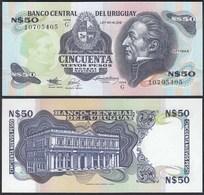 Uruguay - 50 Nuevos Pesos Banknote (1989) UNC Pick 61A  (23226 - Banknoten