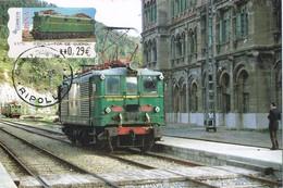 36232. Tarjeta Maxima RIPOLL (Gerona) 2006. Ferrocarril, ATM Tren Ripoll A Tor De Querol - Maximum Cards