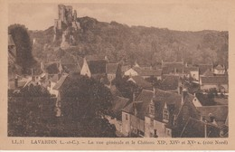41 - LAVARDIN - La Vue Générale Et Le Château XIIe, XIVe Et XVe Siècles (côté Nord) - France
