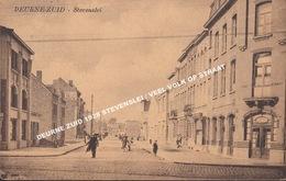 DEURNE ZUID 1928 STEVENSLEI / VEEL VOLK OP STRAAT - Antwerpen