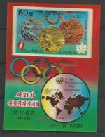 DPR KOREA - MNH - Sport - Olympic Games - Overprint - 3D - Timbres