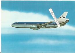 CP AVION DOUGLAS DC10 KLM - 1946-....: Era Moderna