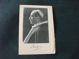 SANTINO HOLY PICTURE IMAIGE SAINTE PIO XII PREGHIERA DELL 'ANNO SANTO - Religione & Esoterismo