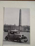 Voiture FORD T  Place De La Concorde Paris -  Coupure De Presse De 1930 - Voitures