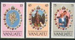 """-Vanuatu-1981""""Princess Diana's Wedding"""" MNH (**) - Vanuatu (1980-...)"""