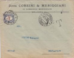 Da Siena A Montalcino - Tassata L.1 Isolato - 1900-44 Victor Emmanuel III
