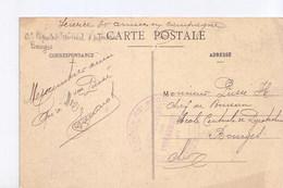 Vesoul Chirugien Dentiste, Avec Cachet Du 62 Régiment Territorial D'infanterie - Marcophilie (Lettres)