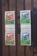 Italien Europäisches Naturschutzjahr  1970; Zwischenstegpaar, Postfrisch - 1946-.. République