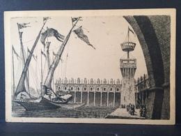 NAPOLI.......Prima Mostra Triennale Delle Terre Italiane D' Oltremare....Galea Di Marco Querini - Napoli (Naples)