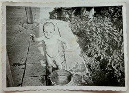 №60  Photography Of  Naked Little Boy, Child - 1950, Old FOTO PHOTO - Anonymous Persons