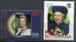 Botswana Mi# 744-5 Postfrisch MNH - QEII - Botswana (1966-...)