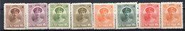 LUXEMBOURG - 1921-22 - N° 119 à 128 - (Lot De 8 Valeurs Différentes) - (Grande-duchesse Charlotte) - 1907-24 Wapenschild
