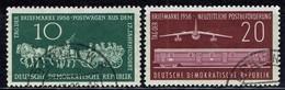 DDR / GDR - Mi-Nr 660/661 Gestempelt / Used (A1188) - DDR