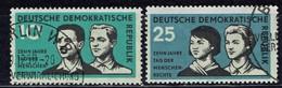 DDR / GDR - Mi-Nr 669/670 Gestempelt / Used (A1189) - DDR