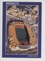 Monaco : Le Stade Louis II (cp Vierge N°98/0004 Aérienne) S.M.M.C. - Stades