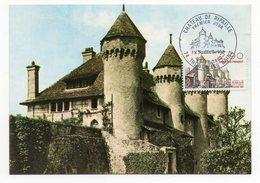 Carte Maximum 1982 - Chateau De Ripaille YT 2232  - 74 Thonon Les Bains - 1980-89