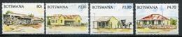 Botswana Mi# 809-12 Postfrisch MNH - Buildings - Botswana (1966-...)