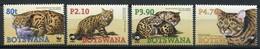 Botswana Mi# 817-20 Postfrisch MNH - Fauna Wildcats - Botswana (1966-...)