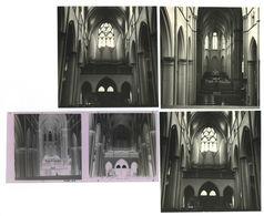 Düsseldorf Dominikanerkloster 1967 2 Fotos 9x9 Cm + Negative - Düsseldorf