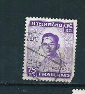 N°  607 Roi Rama IX  Thaïlande(1972)  Oblitéré - Thaïlande