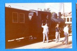 NY588, LEB, Train Lausanne -Echallens - Bercher, Photo 1973 - Treni