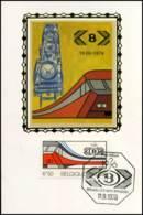[J12462]  België - MK Op Zijde - 1825 - N.M.B.S. - Cartes-maximum (CM)
