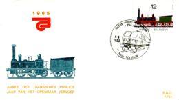 [E6867] - 2171 - FDC - Jaar Van Het Openbaar Vervoer - FDC