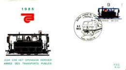[E6866] - 2170 - FDC - Jaar Van Het Openbaar Vervoer - FDC