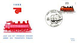 [E6863] - 2172 - FDC - Jaar Van Het Openbaar Vervoer - FDC