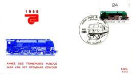 [E6862] - 2173 - FDC - Jaar Van Het Openbaar Vervoer - FDC
