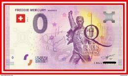 Billet Touristique Euro Souvenir '' Freddie Mercury '' 2019 - EURO