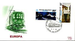 [E6582] - 2092/93 - FDC - Europa - FDC