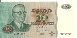 FINLANDE 10 MARKKAA 1980 UNC P 111 - Finlande
