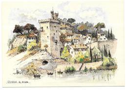 30 - VILLENEUVE LES AVIGNON - Aquarelle Originale De Robert LEPINE - Ed. Yvon N° 15 00 7224 - Villeneuve-lès-Avignon
