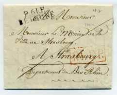 P61P BETHUNE + PPPP + Ecrite Par Le Maire De La Ville  / Dept Du Pas De Calais / 1814 / - Marcophilie (Lettres)