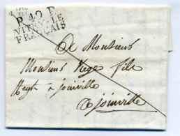 P49P VITRY LE FRANCAIS  / Dept De La Marne / 1822 - Marcophilie (Lettres)