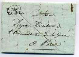 P52P TOUL  / Dept De La Meurthe / Floréal An XII - Marcophilie (Lettres)