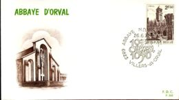 [E4398] - 1592 - FDC - Abdij Van Orval - FDC