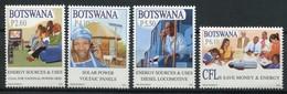 Botswana Mi# 931-4 Postfrisch MNH - Electrification - Botswana (1966-...)